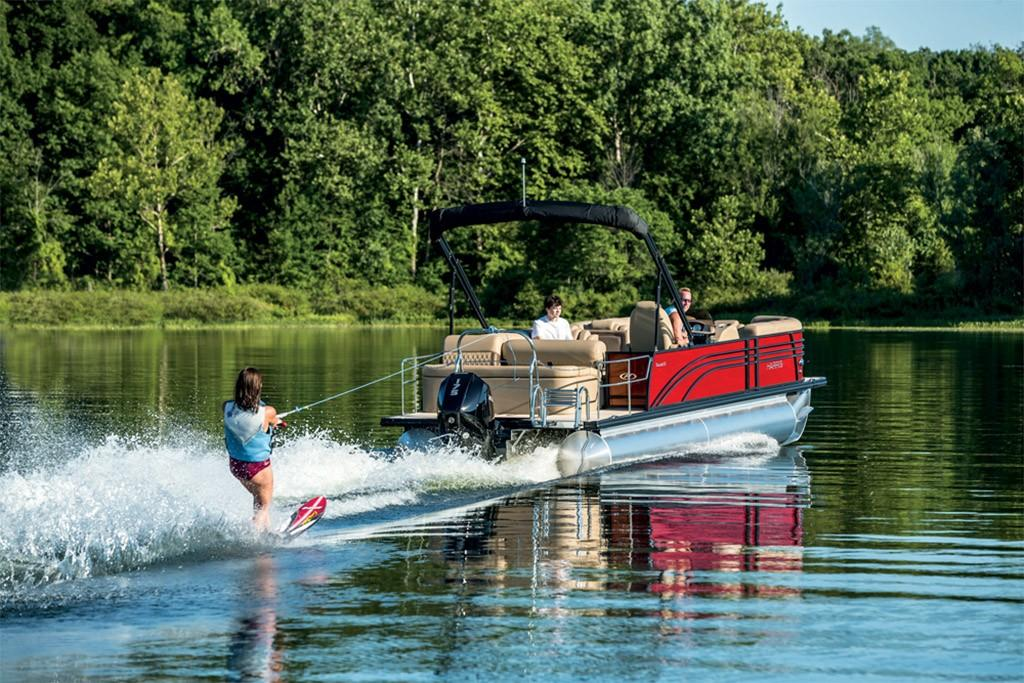 2020 Harris Pontoons Sunliner 250 Image Thumbnail #10