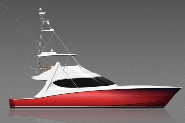 Thumbnail 3 for 2020 Hatteras GT54