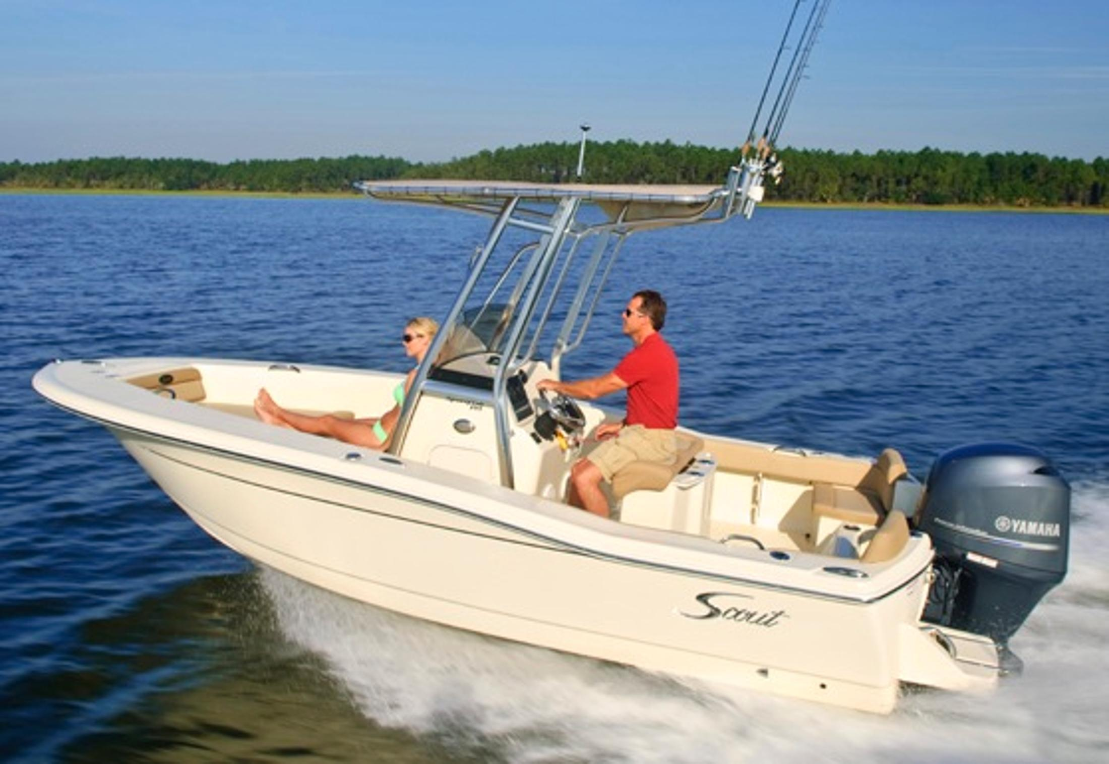Thumbnail 2 for 2021 Scout 195 Sportfish
