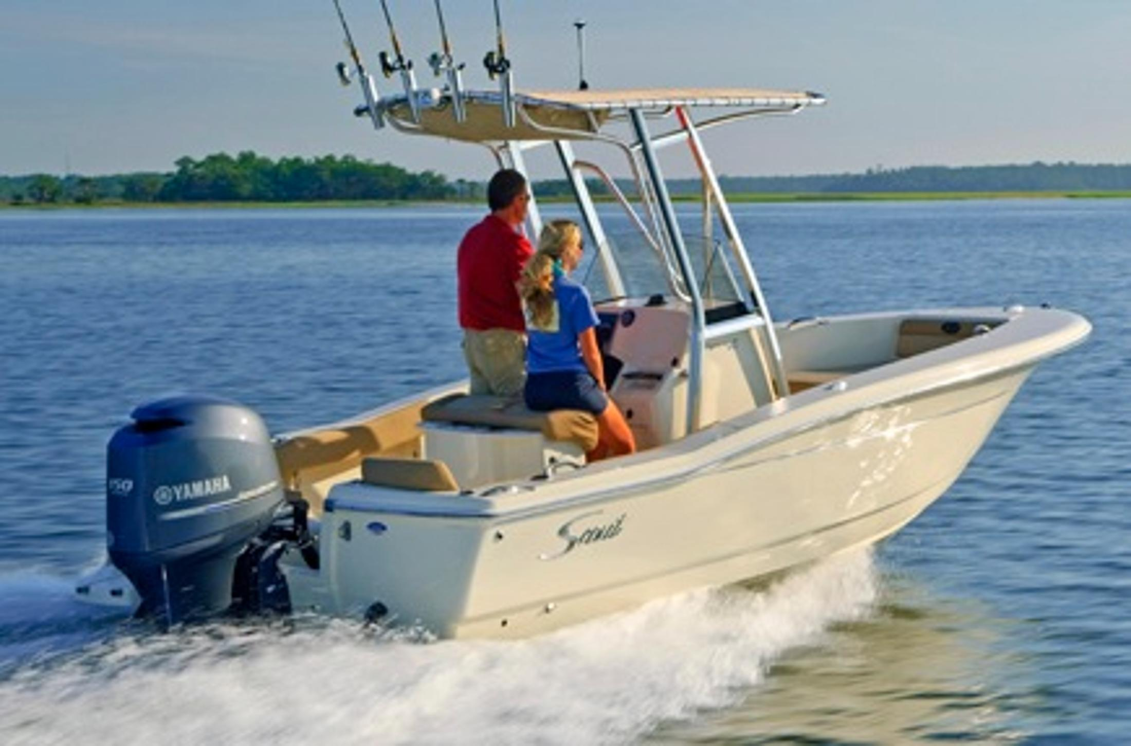 Thumbnail 3 for 2021 Scout 195 Sportfish