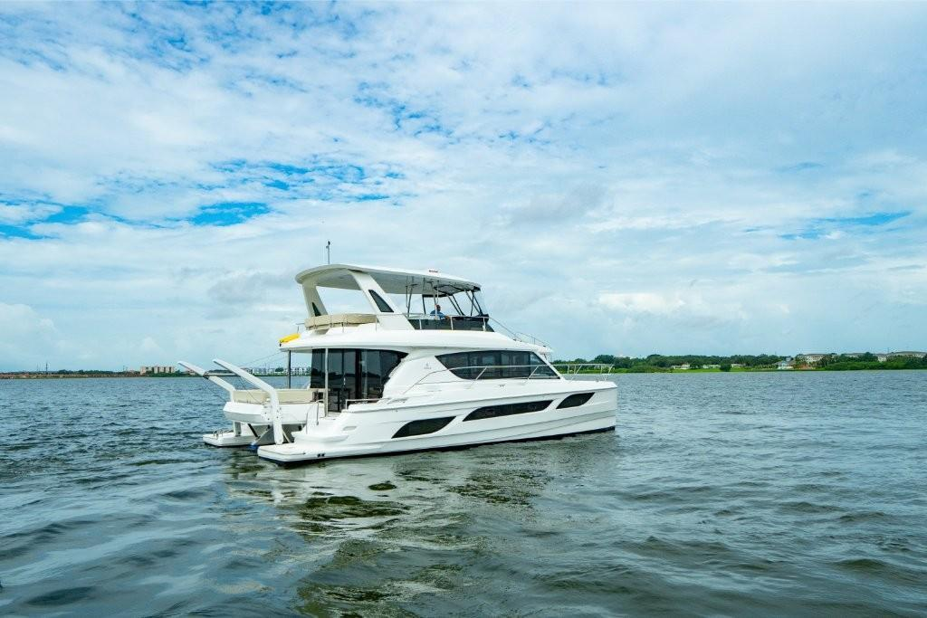 2021 Aquila 48 Contact Your Local Marinemax Store About Availability