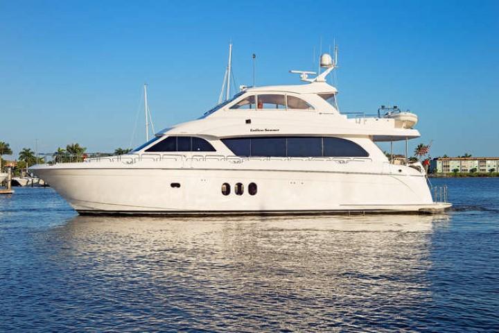 2008 Hatteras 72 Motor Yacht Image Thumbnail #0