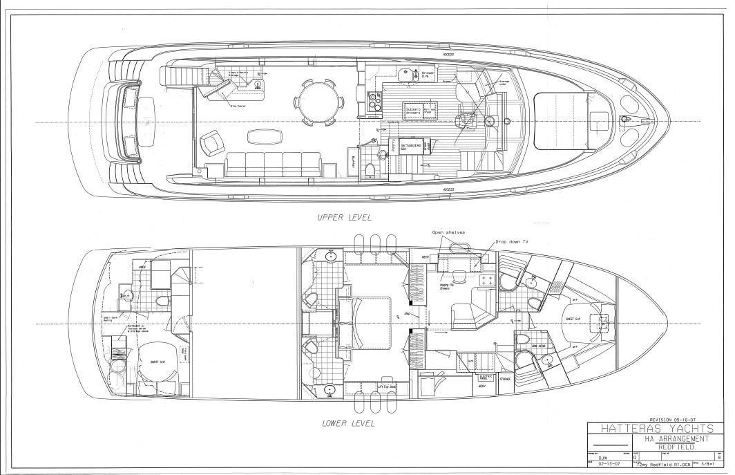 2008 Hatteras 72 Motor Yacht Image Thumbnail #2