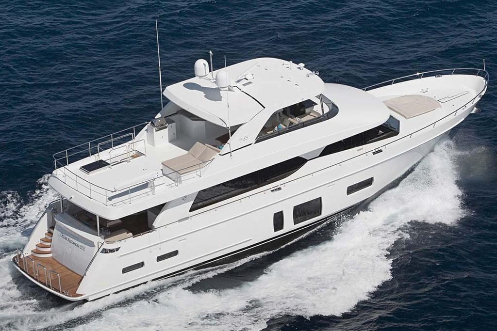 2019 Ocean Alexander 85 Motoryacht Image Thumbnail #1