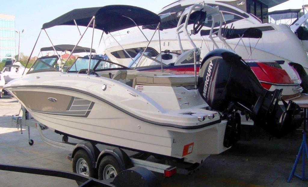 2015 Sea Ray 21 SPX Outboard Image Thumbnail #0