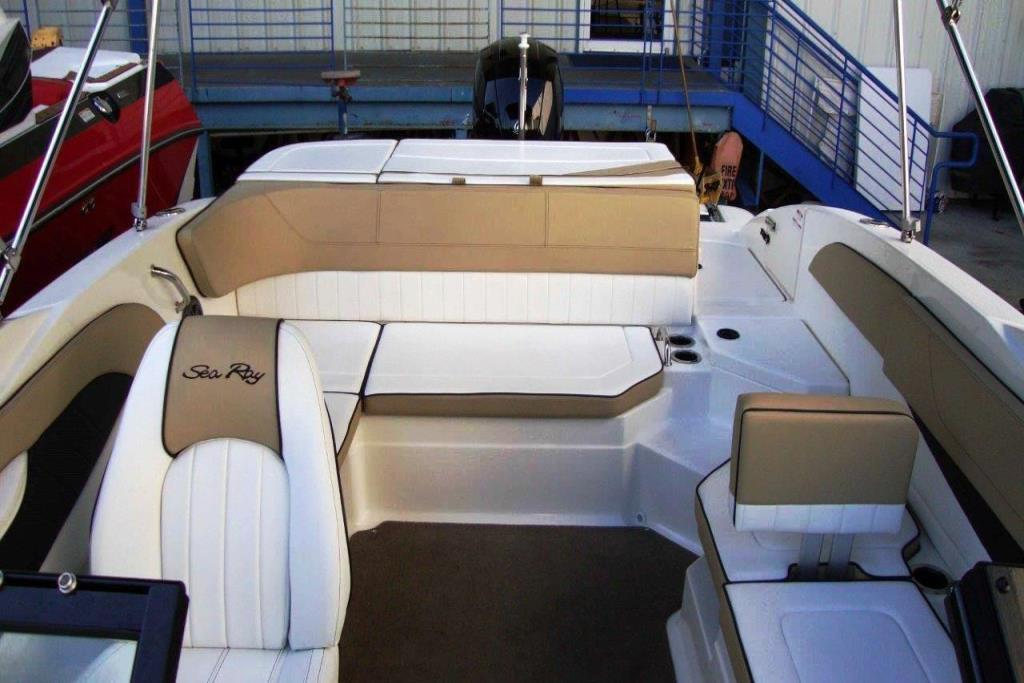 2015 Sea Ray 21 SPX Outboard Image Thumbnail #6