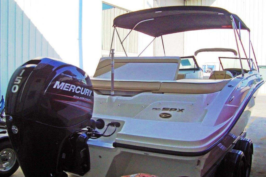 2015 Sea Ray 21 SPX Outboard Image Thumbnail #3