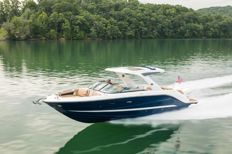 2020 Sea Ray SLX 310 OB Image Thumbnail #2
