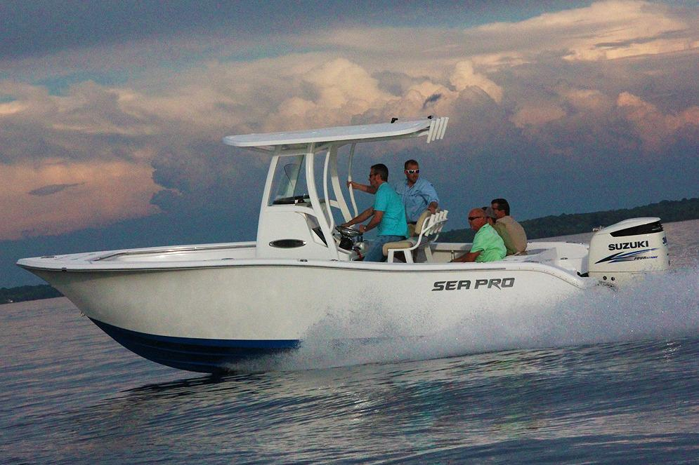 2017 Sea Pro 239 Center Console Image Thumbnail #2