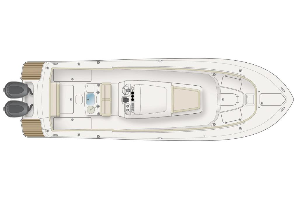 2017 Scout Boats 300 LXF Image Thumbnail #8