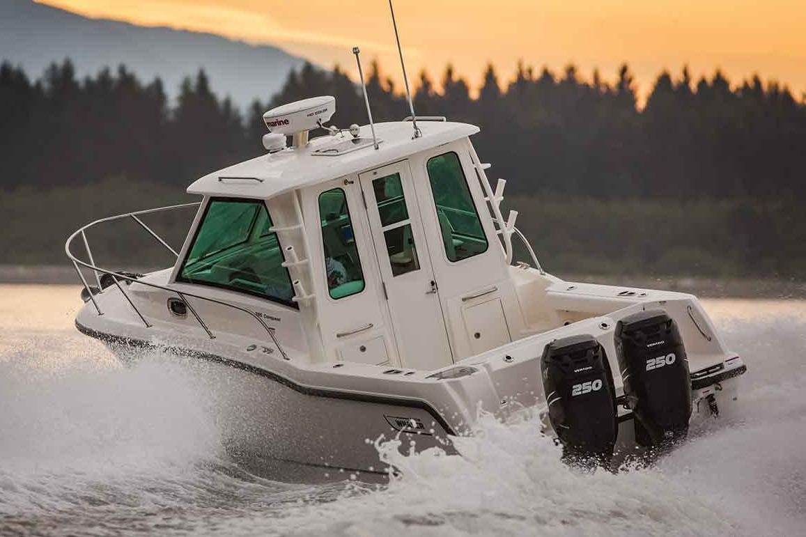 Thumbnail 3 for 2021 Boston Whaler 285 Conquest Pilothouse