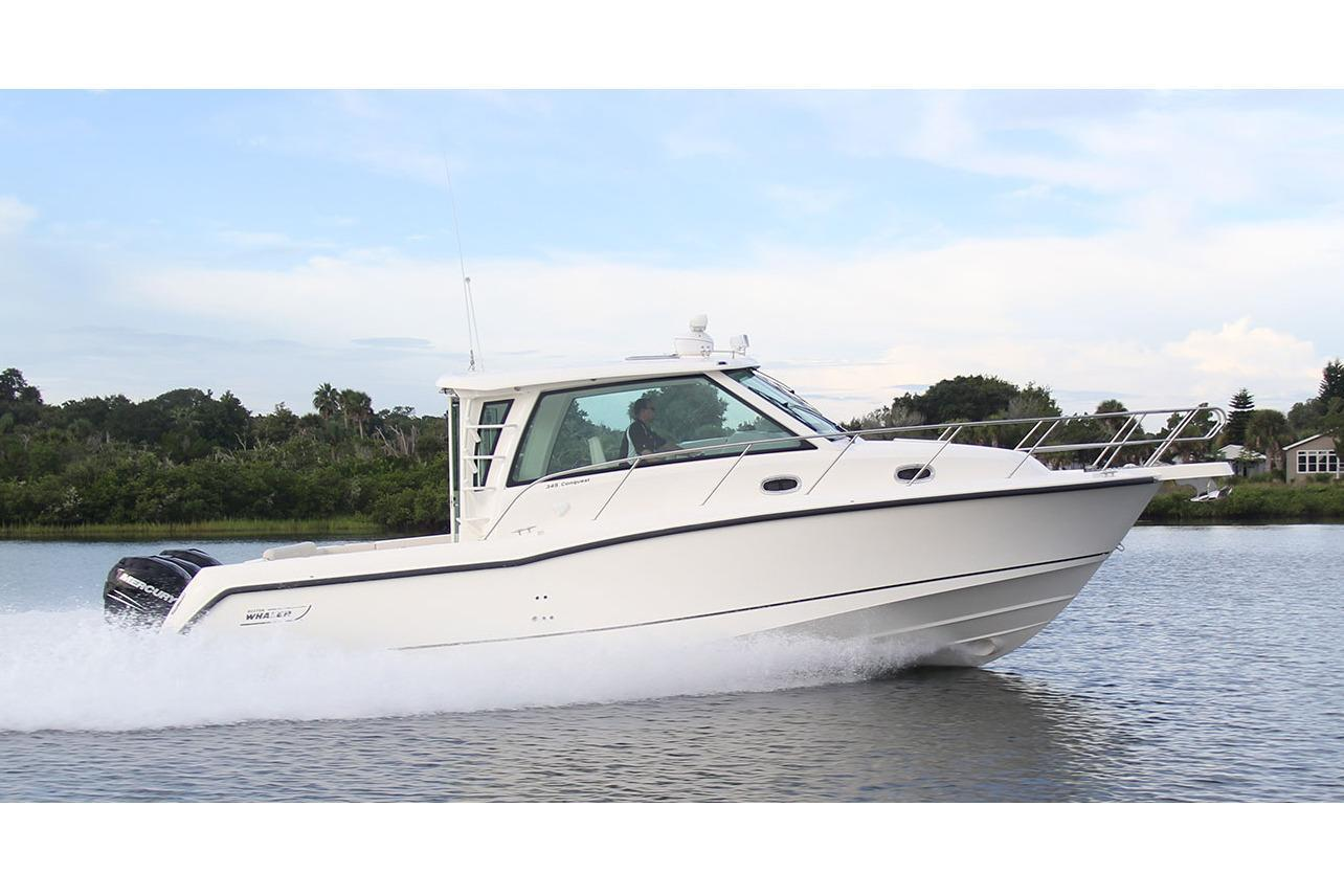 2020 Boston Whaler 345 Conquest Pilothouse Image Thumbnail #3