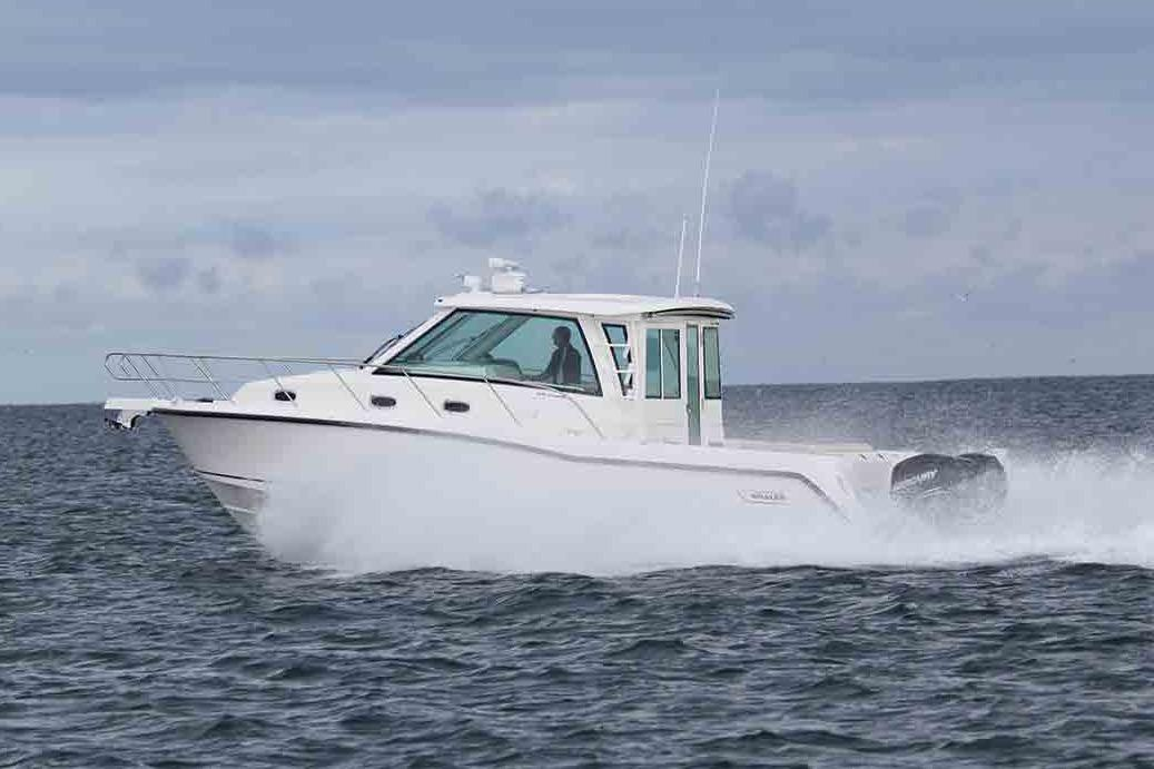 2020 Boston Whaler 345 Conquest Pilothouse Image Thumbnail #0