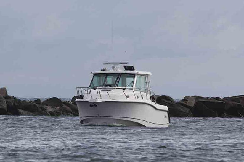 2020 Boston Whaler 345 Conquest Pilothouse Image Thumbnail #1