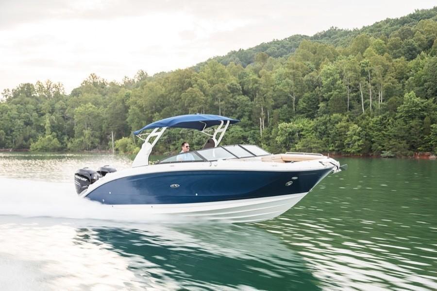 2020 Sea Ray SDX 290 Outboard Image Thumbnail #3