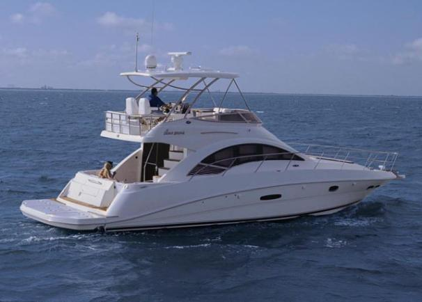 2008 Sea Ray 47 Sedan Bridge Image Thumbnail #1