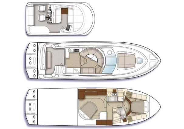 2008 Sea Ray 47 Sedan Bridge Image Thumbnail #6