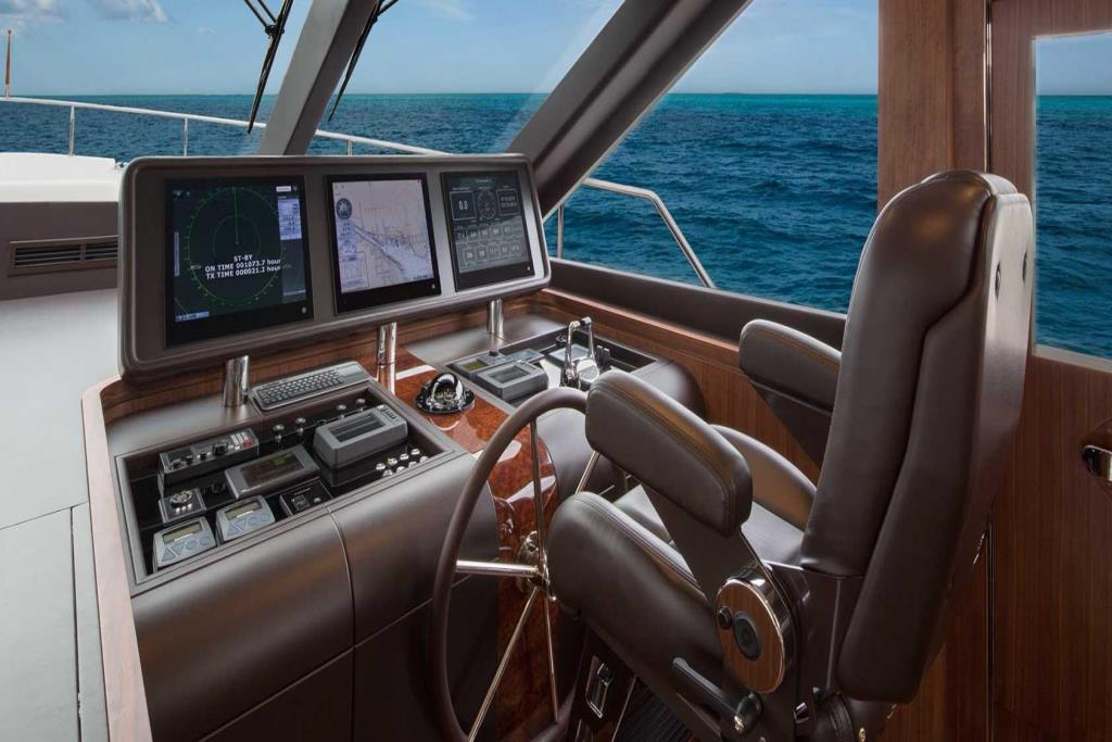 2019 Ocean Alexander 100 Motoryacht Flybridge Image Thumbnail #13