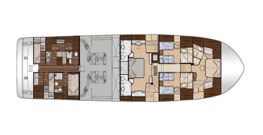 2019 Ocean Alexander 100 Motoryacht Flybridge Image Thumbnail #33