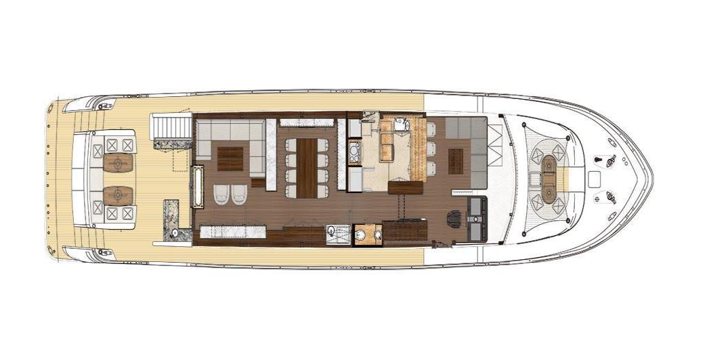 2019 Ocean Alexander 100 Motoryacht Flybridge Image Thumbnail #35