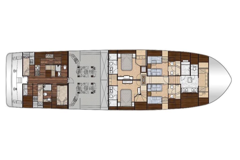 2019 Ocean Alexander 100 Motoryacht Flybridge Image Thumbnail #37