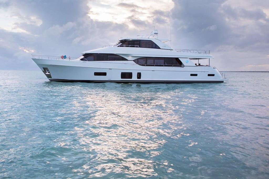 2020 Ocean Alexander 100 Motoryacht Flybridge Image Thumbnail #1