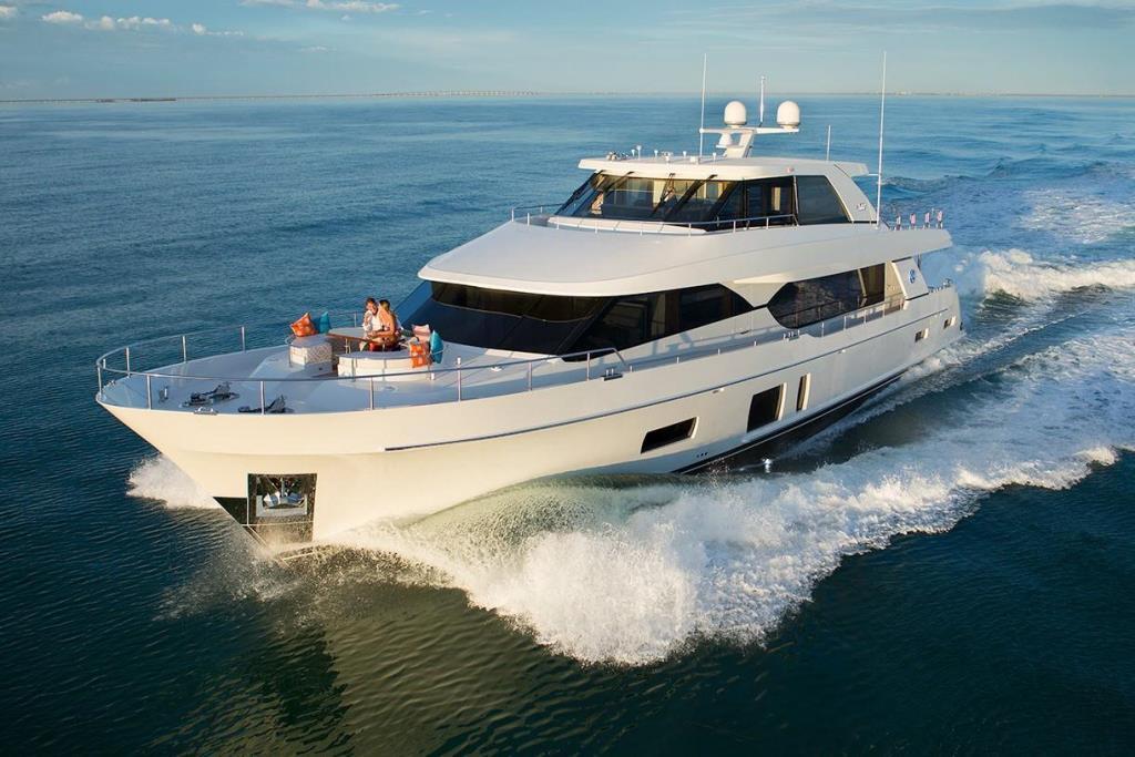 2020 Ocean Alexander 100 Motoryacht Flybridge Image Thumbnail #3