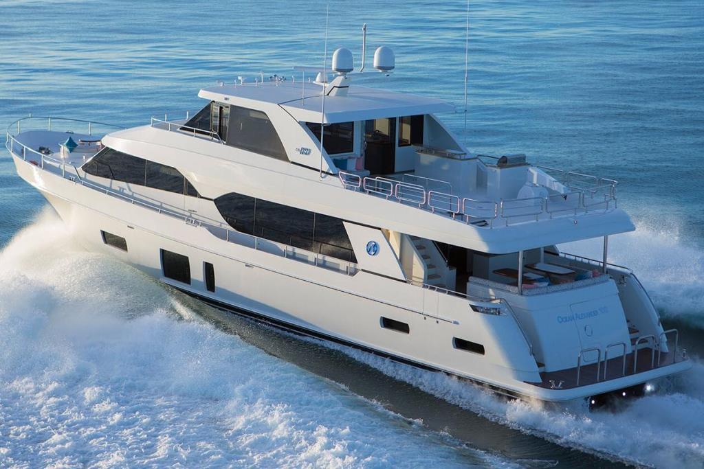 2019 Ocean Alexander 100 Motoryacht Flybridge Image Thumbnail #4
