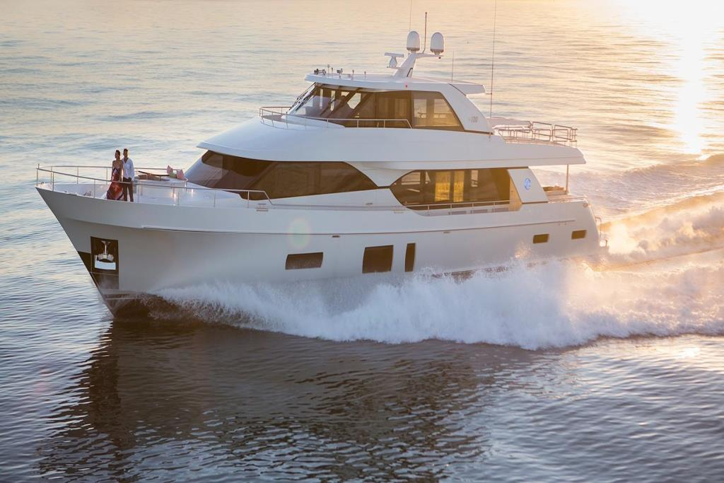 2020 Ocean Alexander 100 Megayacht Skylounge Image Thumbnail #2