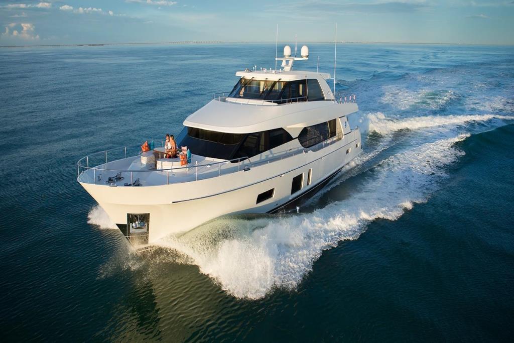 2020 Ocean Alexander 100 Megayacht Skylounge Image Thumbnail #3