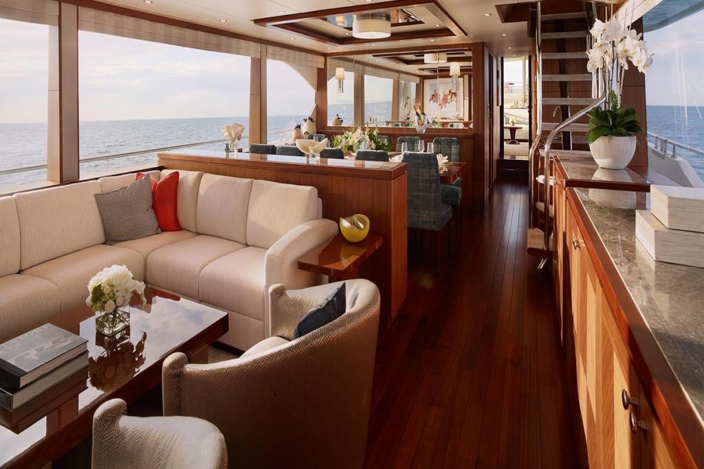 2020 Ocean Alexander 100 Megayacht Skylounge Image Thumbnail #10