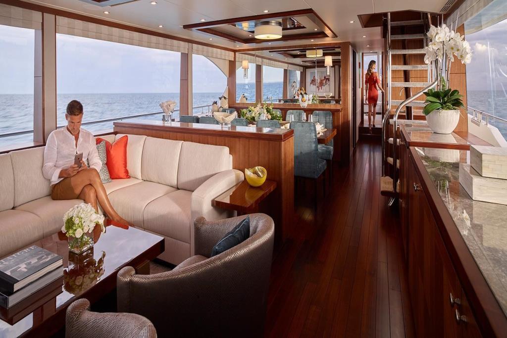2020 Ocean Alexander 100 Megayacht Skylounge Image Thumbnail #11