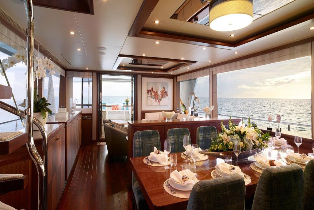 2020 Ocean Alexander 100 Megayacht Skylounge Image Thumbnail #12