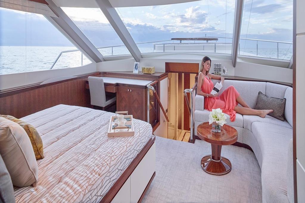 2020 Ocean Alexander 100 Megayacht Skylounge Image Thumbnail #14