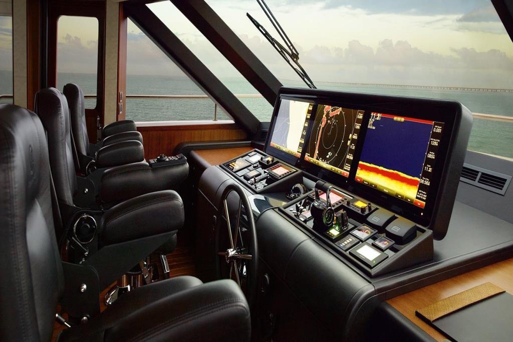 2020 Ocean Alexander 100 Megayacht Skylounge Image Thumbnail #20
