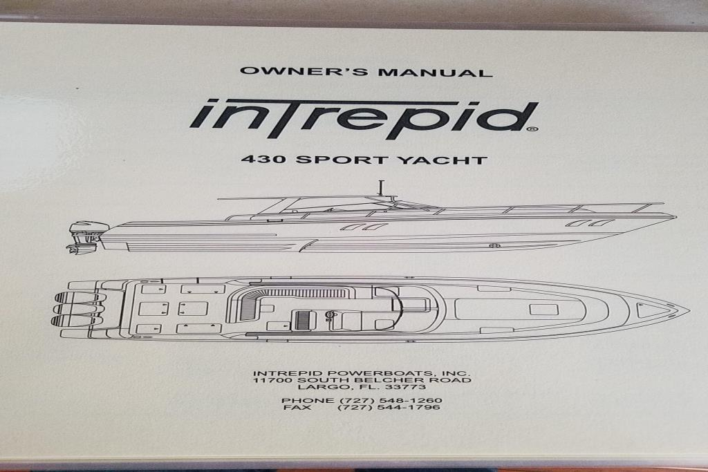 2017 Intrepid 430 Sport Yacht Image Thumbnail #1