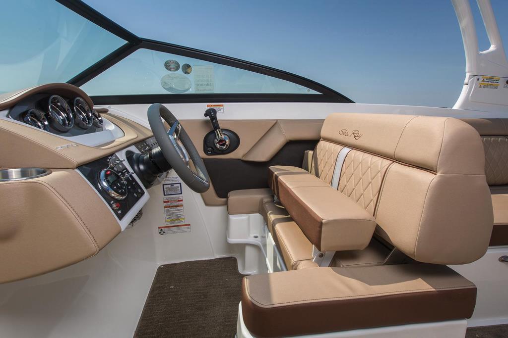 2018 Sea Ray SDX 270 Outboard Image Thumbnail #6