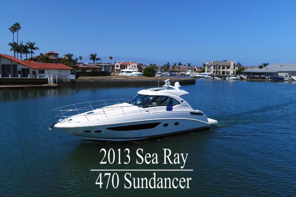 2013 Sea Ray 470 Sundancer Worldwide Broker