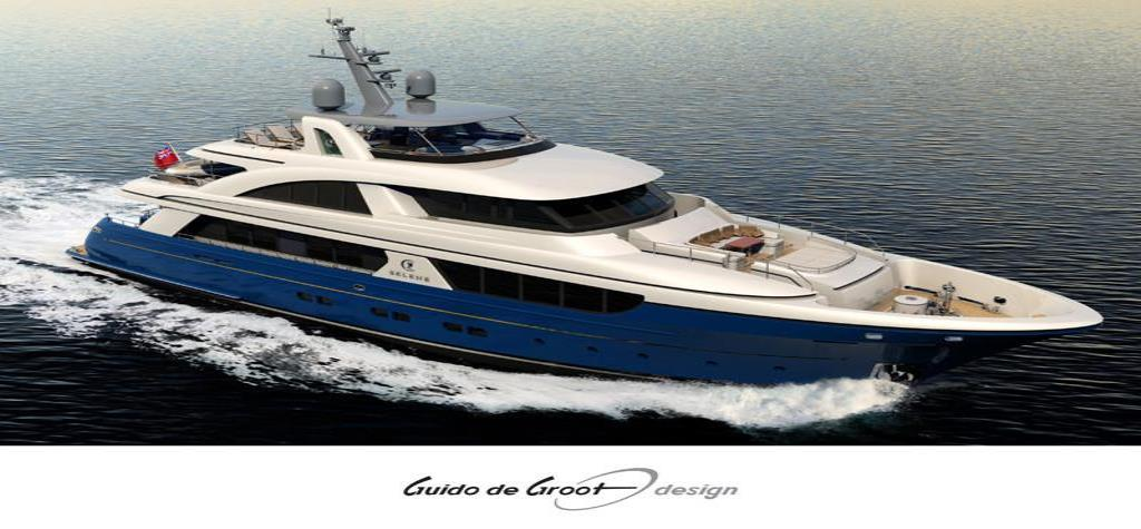 Thumbnail 2 for 2018 Selene 128 Tri-Deck Motor Yacht