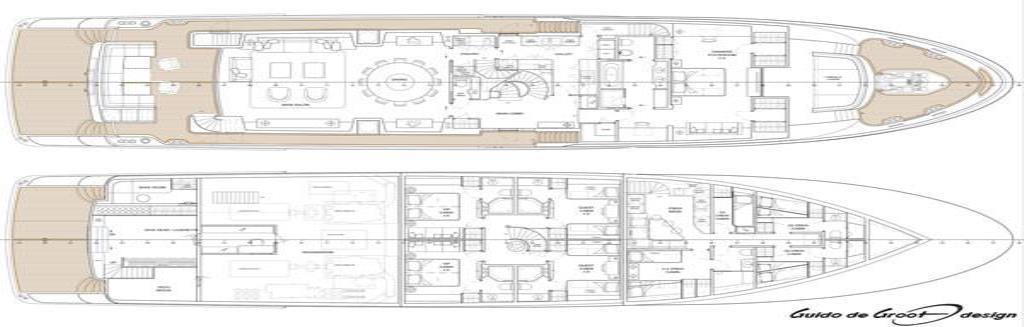 2018 Selene 128 Tri-Deck Motor Yacht Image Thumbnail #13