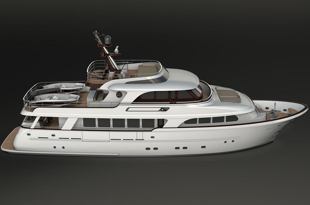 2018 Selene 110 Trideck Motor Yacht