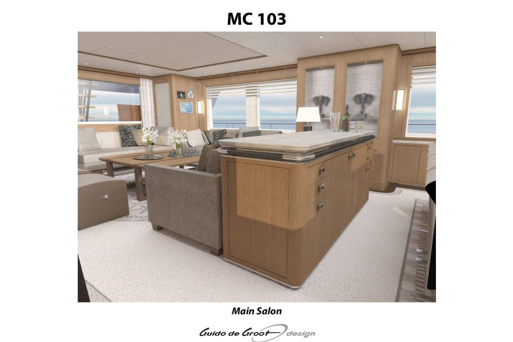 2018 Selene 110 Trideck Motor Yacht Image Thumbnail #20