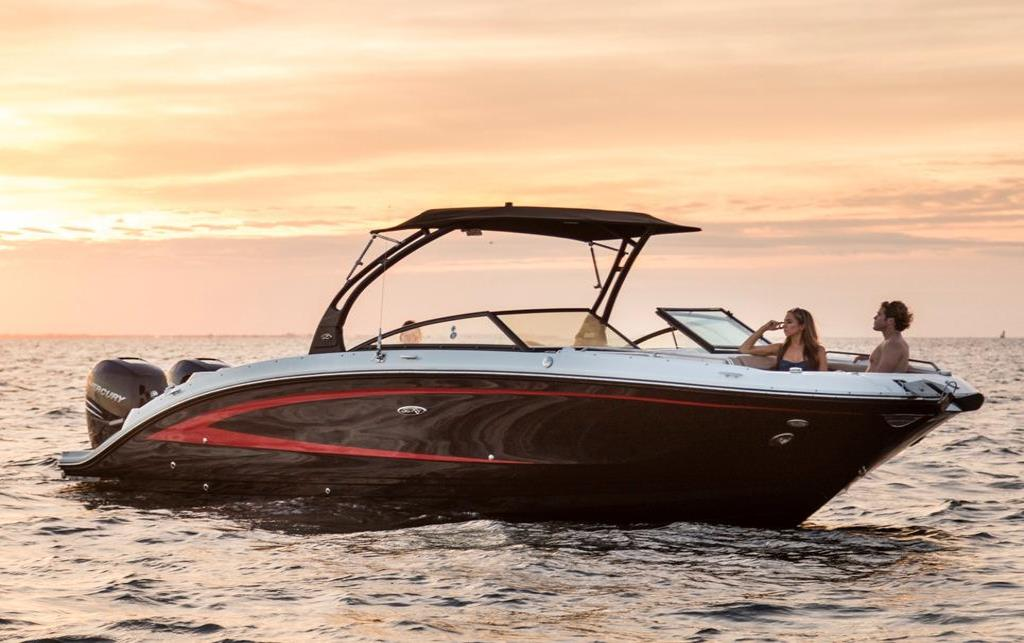 2019 Sea Ray SDX 290 Outboard Image Thumbnail #3