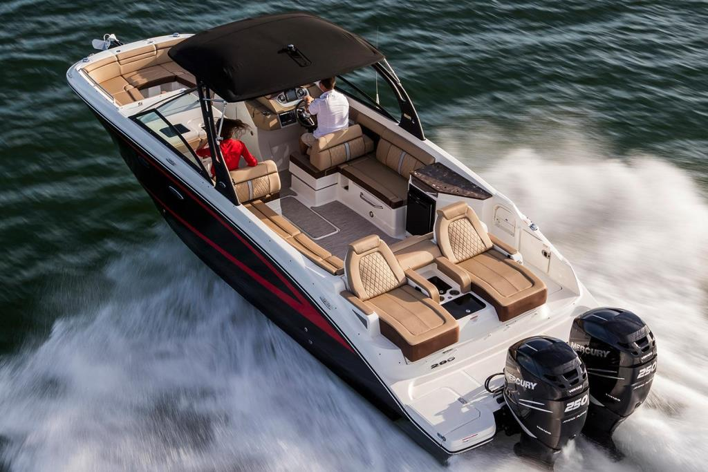 2019 Sea Ray SDX 290 Outboard Image Thumbnail #2