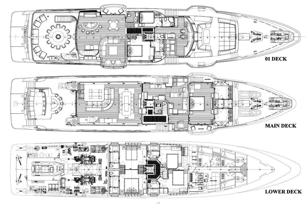 2016 IAG Tri-Deck Motor Yacht Image Thumbnail #62