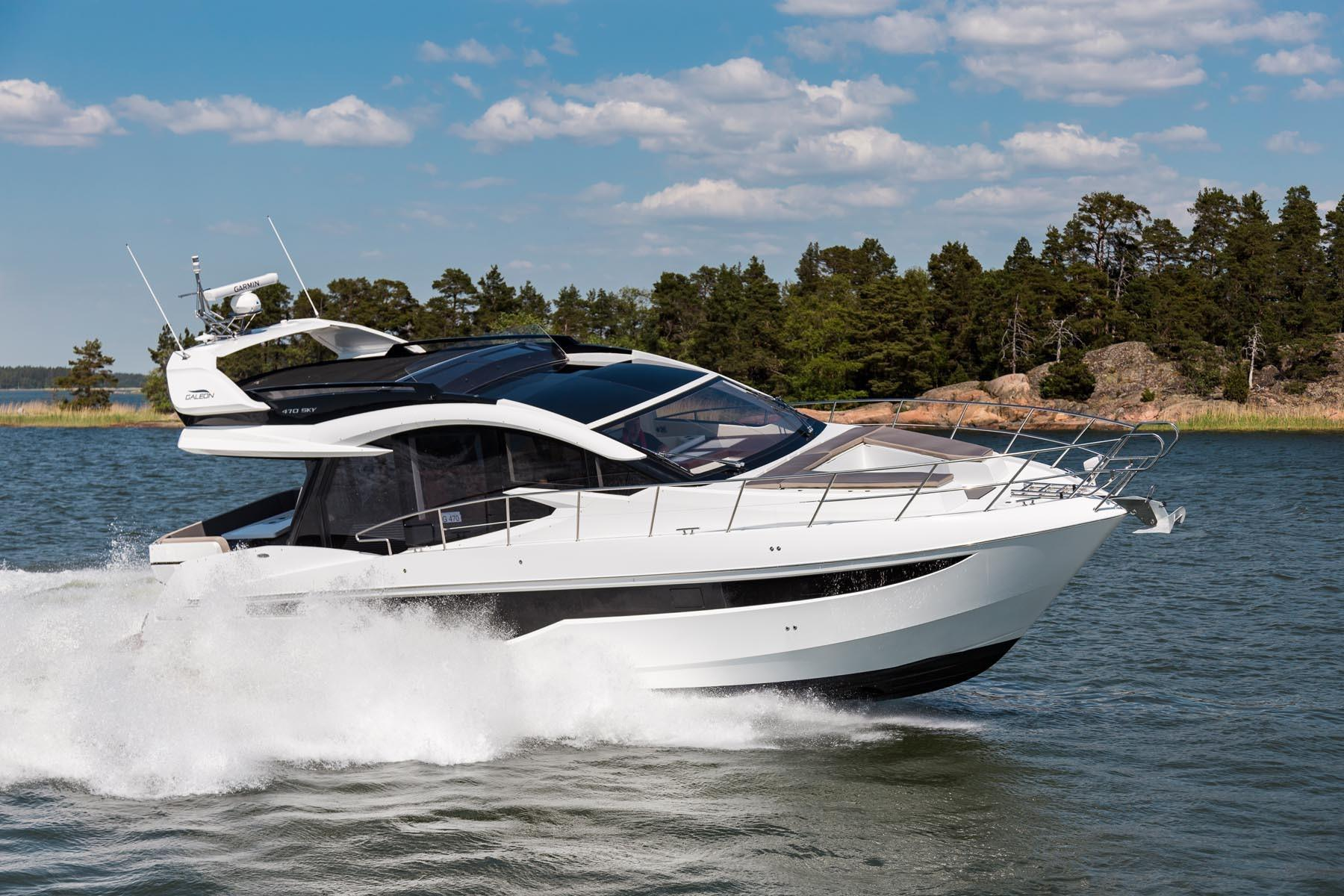 Thumbnail 4 for 2021 Galeon 470 SKY