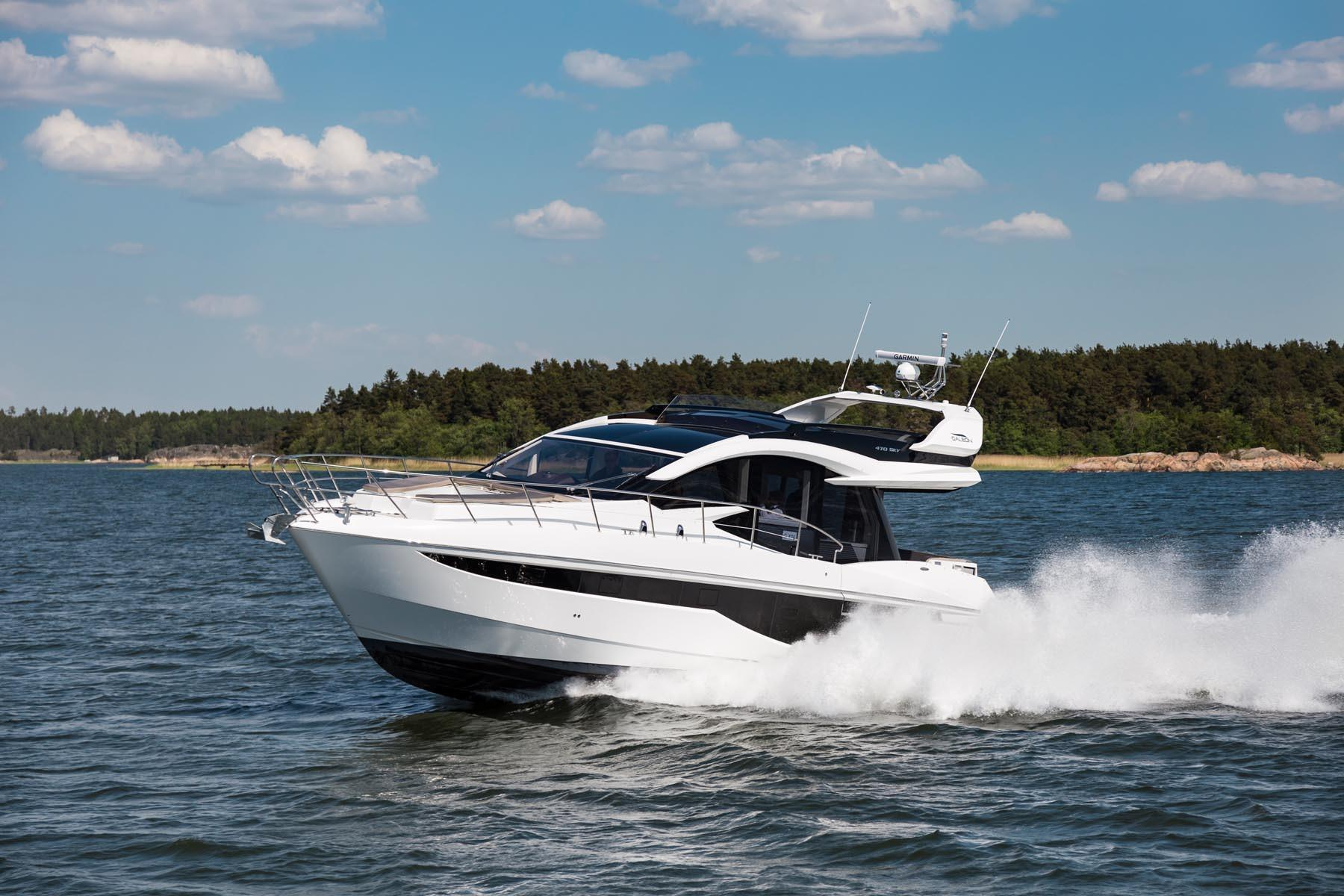 Thumbnail 1 for 2021 Galeon 470 SKY