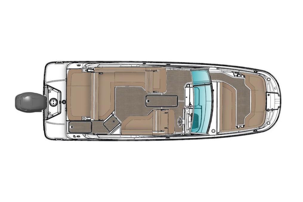 2019 Sea Ray SDX 250 Outboard Image Thumbnail #15