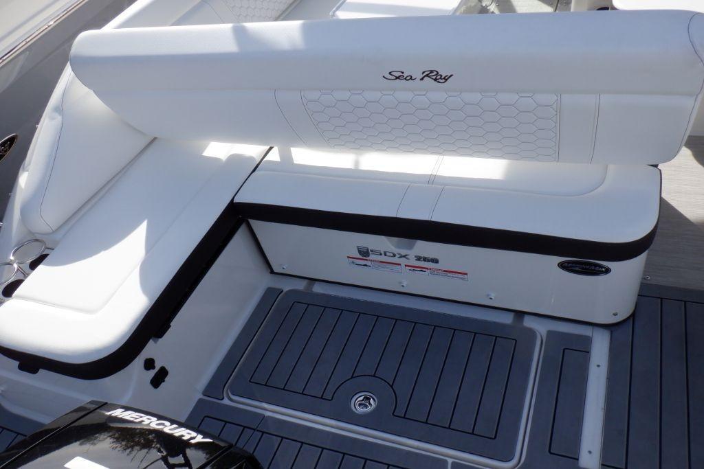2019 Sea Ray SDX 250 Outboard Image Thumbnail #10