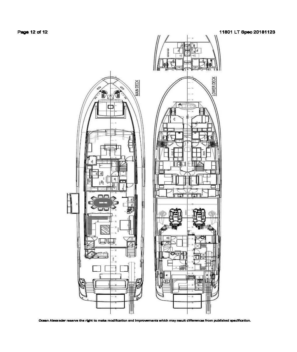 2021 Ocean Alexander                                                              118MY Image Thumbnail #2